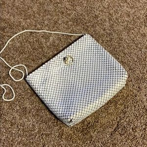 VINTAGE White Mesh Crossbody